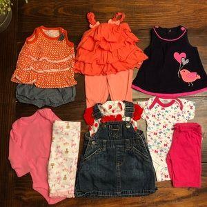 6 Newborn outfits